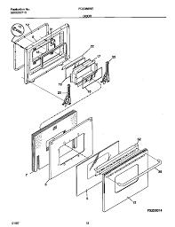 Fcs388weca dual fuel range door parts diagram wiring diagram parts diagram