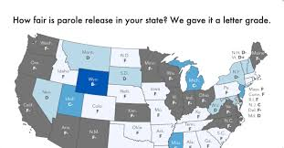 Texas Parole Eligibility Chart 2018 Grading The Parole Release Systems Of All 50 States Prison