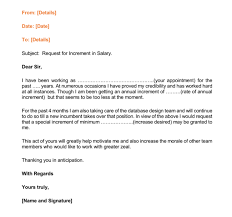 Increment Letter Template Magnificent Sample Increment Letter Format Cialisnets