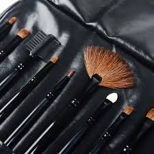 makeup brush set on orders over 45 overstock 14792539 shany professional 12 piece natural goat and badger