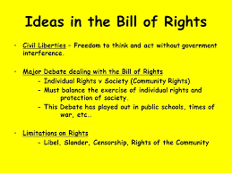 bill of rights ppt the constitution the bill of rights amendments amendments ppt download