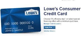 Lowes Commercial Credit Card Application Activate Lowes Credit Card To Log Into Online Account Business