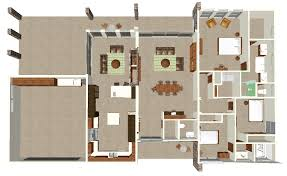 modern home design layout. 3 D House Drawing And Floor Plan Features Modern Home Design Layout