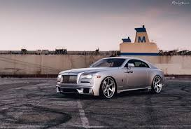 Custom Bodied Rolls Royce Wraith On Brixton Forged Wheels Looks The