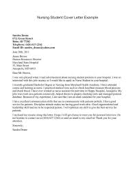 Cover Letter Nursing Student Download Cover Letter Sample For Waa Mood