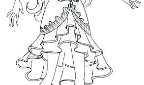 Monster High Cat Coloring Pages Free Printable For Worksheet Candy