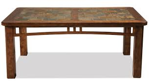 Slate top coffee table Oak Coffee Table W Slate Top Wolf Furniture Coffee Table W Slate Top By Riverside Furniture Wolf And Gardiner