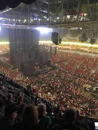 Yum Concert Seating Chart Kfc Yum Center Section 321 Home Of Louisville Cardinals