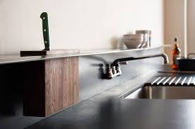 Collect this idea Backsplash Shelf and Integrated Knife Block