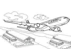 Small Picture Airplane Coloring Pages Free Printable Plane vonsurroquen