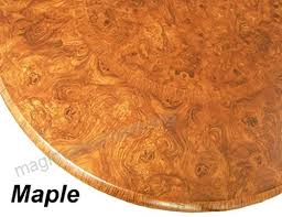 table cloth round 36 to 48 elastic edge fitted vinyl table cover maple wood
