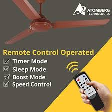 gorilla efficio energy saving 5 star rated remote control and bldc motor 1400mm 3