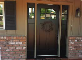 front door with one sidelight and transom front door with sidelights wood front door