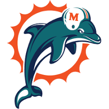 Miami Dolphins Primary Logo | Sports Logo History