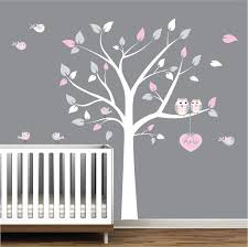 37 tree wall decals for nursery tree wall decal wall stickers nursery wall decals tree with birds wall mcnettimages com