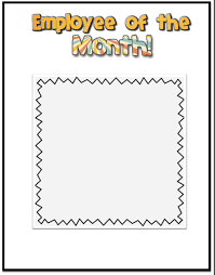 printable frame templates employee of the month frame template save btsa co