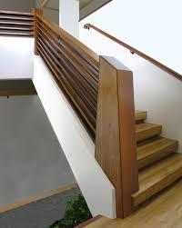 Wood Stair Railing DIY