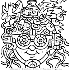 Small Picture Numbers Coloring Pages Top Color By Numbers Numbers And Coloring