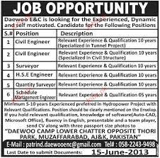 Civil Engineers, Surveyors, Hse Engineers Job Opportunity 2018 Jobs ...