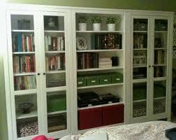 Bookshelves With Glass Doors