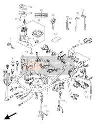 suzuki gsx1300r hayabusa 2008 spare parts msp wiring harness gsx1300r ru2 e2 e14 e19 e24 e51