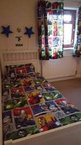 modern avenger bedroom set boy marvel bedding curtain lamp shade idea decor in a box light