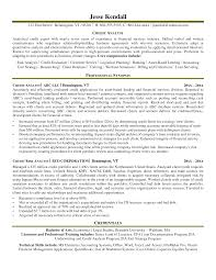 Cover Letter Examples For Credit Analyst