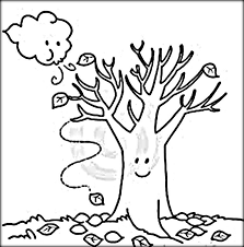 Small Picture Fall Leaves Tree Coloring PageLeavesPrintable Coloring Pages
