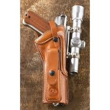 leather holsteras iii scoped holster an american beauty ruger mk 1 ii iii scoped holster