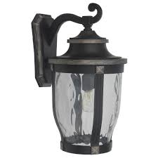 mccarthy 1 light bronze outdoor