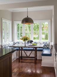 kitchen nook lighting. modren kitchen built in bench banquette seating blue cushion breakfast nook  built bench pendant light janet mesic mackie and kitchen nook lighting