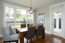 dining room chair standard height. dining room, girls chandelier grey wood table white slip covered chairs blue standard chair height room