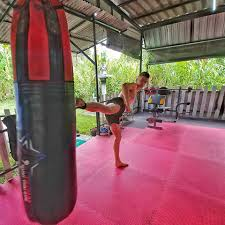 awesome morning at attachai muay thai gym one of the biggest differences between here