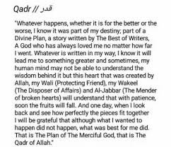 Quran Quotes About Fate