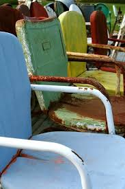 vintage metal furniture. vintage metal patio chairs my mom still has her on the porch furniture