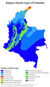 Climate Of Colombia Wikipedia