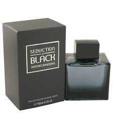 <b>Antonio Banderas Seduction In</b> Black Eau De Toilette Spray for Men ...