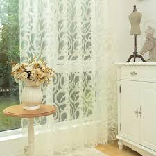 White Curtains For Living Room Popular White Panel Curtains Buy Cheap White Panel Curtains Lots