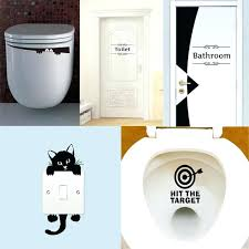 cozy wall stickers bathroom toilet sticker bathroom wall stickers home decoration light switch wall decals for