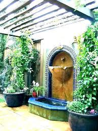 garden wall fountain mounted water features uk