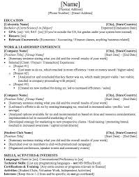 Student Resume Templates Delectable Mergers And Inquisitions Resume Template ] R 48 Sum 48 Tips For