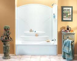 install tub shower combo bathroom how to install bathtub surround solid surface surrounds shower ideas tub replacing tub shower combo with walk in
