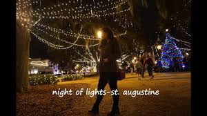 St Augustine Lights Hours Night Of Lights St Augustine