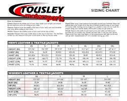 Shift Size Chart Shift Size Charts