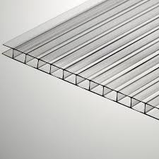 6mm x 48 x 96 clear twinwall polycarbonate sheet twin wall polycarbonate panels