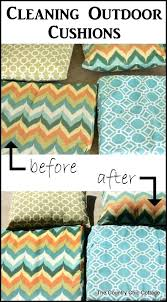 best way to clean outdoor cushions the best cleaning outdoor cushions ideas on cleaning outdoor cushions