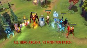dota 2 all hero jug io arcana mod pack 7 06 updated youtube