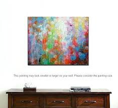 large wall canvas art abstract painting work prints