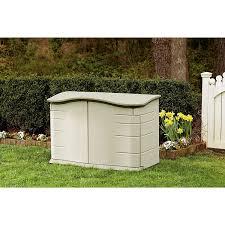 com rubbermaid horizontal storage shed fg374801olvss garden outdoor