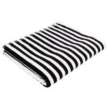 black and white bath towels. Tesco Black \u0026 White Stripe Bath Towel And Towels
